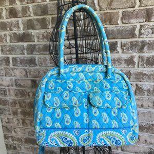 Vera Bradley Bermuda Bowler Bag Paisley Medium